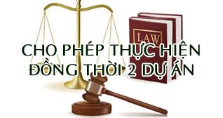 cho phep thuc hien dong thoi 2 du an dai kim dinh cong mo rong