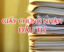 giay chung nhan dau tu du an dai kim dinh cong mo rong
